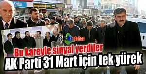 AK Parti 31 Mart için tek yürek