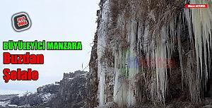 Buz şelalesi