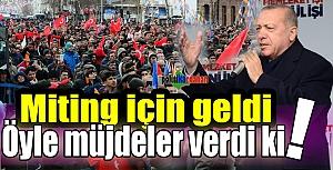 Cumhurbaşkanı Erdoğan, Ardahan'da