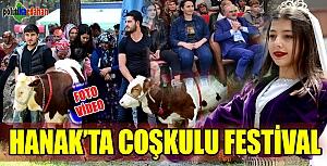 Hanak'ta coşkulu festival- 2019