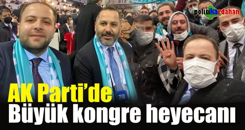 AK Parti'de büyük kongre heyecanı… Ardahan teşkilatı da oradaydı!