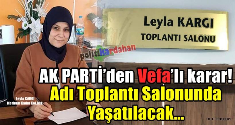AK Parti'den vefalı karar!