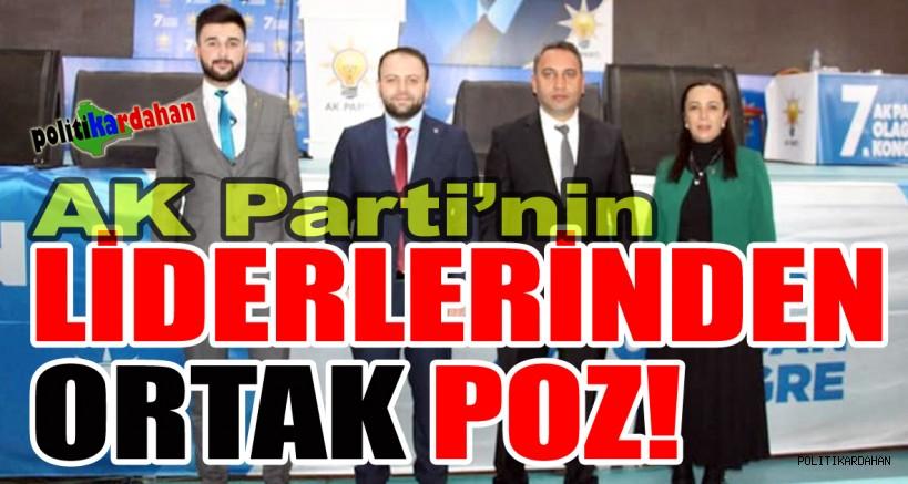 AK Parti liderlerinden kararlılık pozu!