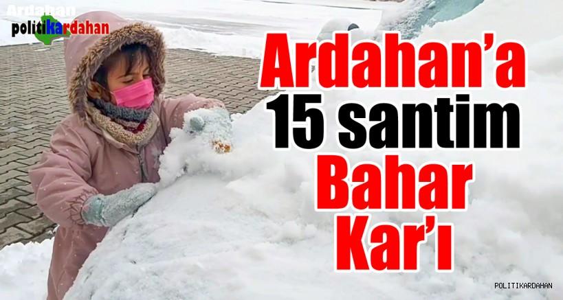 Ardahan'a 15 santim bahar karı…
