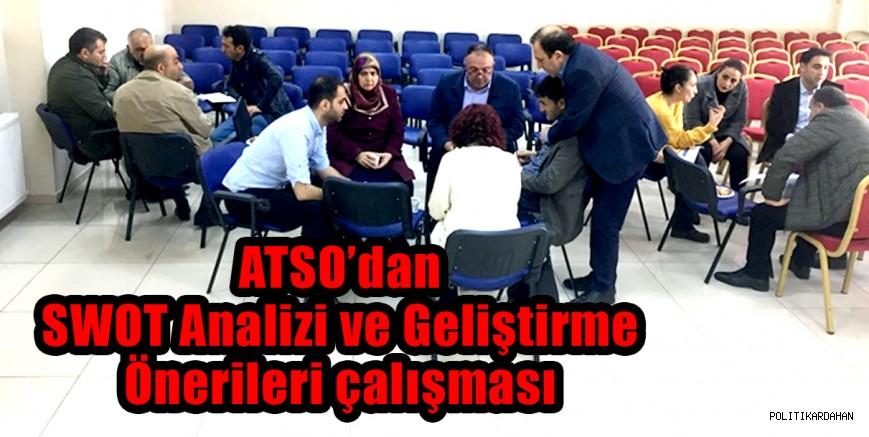 ATSO'da SWOT analizi yapıldı