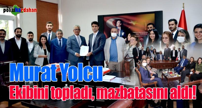 BARO Başkanı Murat Yolcu, görevine başladı