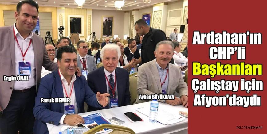 CHP'li Başkanlar çalıştay için Afyon'daydı