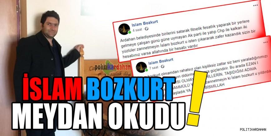 İşten çıkarılan ARBEL Müdürü İslam Bozkurt meydan okudu