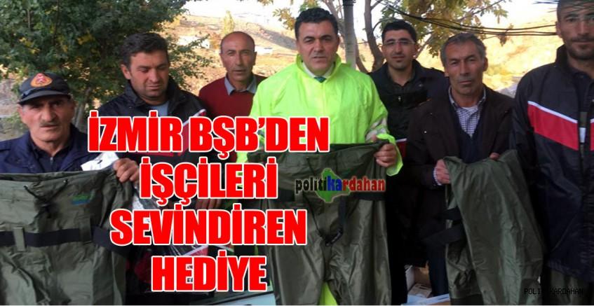 İzmir'den işçileri sevindiren hediye