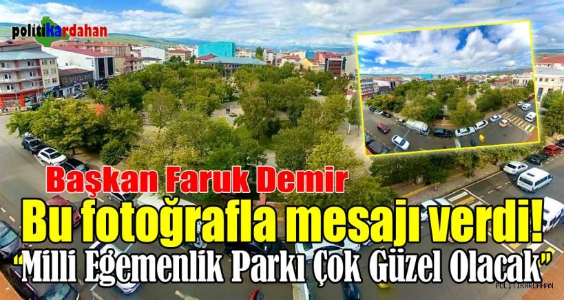 Milli Egemenlik Parkı çok güzel olacak!