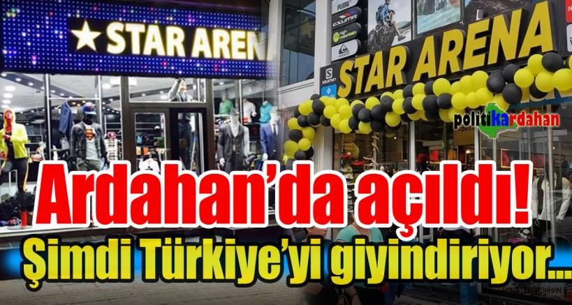 Star Arena Türkiye'yi giyindiriyor...