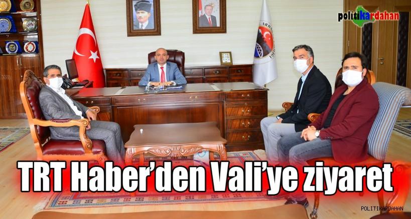 TRT Haber'den Vali'ye hayırlı olsun ziyareti