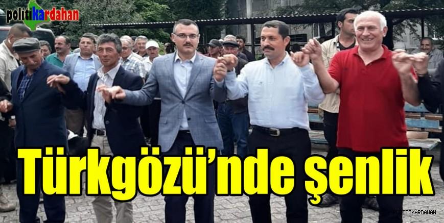 Türkgözü'nde coşkulu şenlik