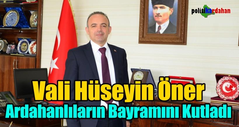 Vali, Ardahanlıların bayramını kutladı
